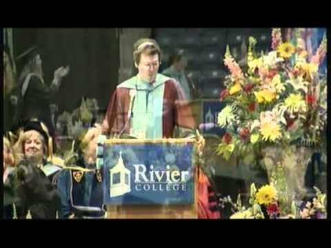 Rivier College - Commencement 2012 - Sister Paula Closing Remarks