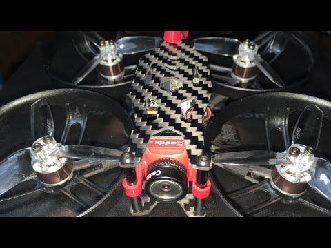 ARRIS X110 HD V2 3-4S Cinewhoop 1080p 60 FPS FPV Racing Drones BNF 1st Look 👀
