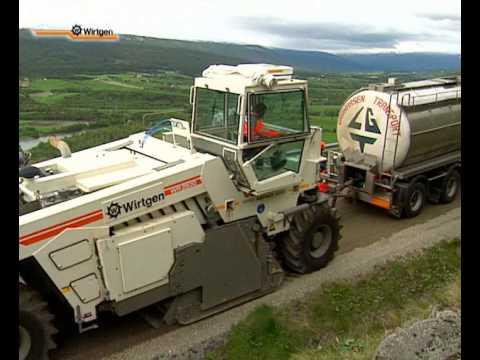 Wirtgen foamed bitumen technology