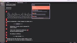 SublimeLinter3 & SublimeLinter-php