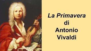 Videolezione - Vivaldi PRIMAVERA