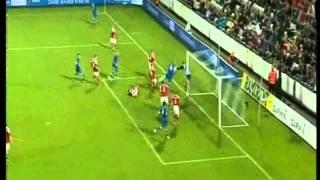 Danimarca-slovacchia 1-3, ecco il gol di hamsik