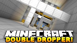 Minecraft - THE DOUBLE DROPPER! (Insane Dropper Map!) - w/ Preston & Lachlan
