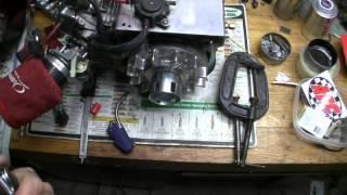 propane gas in a butane lighter
