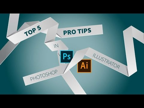 Top 5 Tips for Graphic Designers using Photoshop & Illustrat