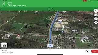 November 23, 2019/878 Trucking Loading, Loaded, Cat ? Scale. Sulphur Springs, Texas
