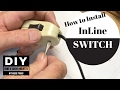 Install Lamp Switch