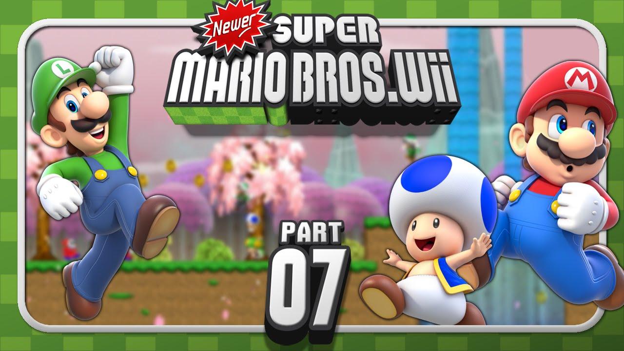 Newer Super Mario Bros. Wii - 4-Player - World 4 (1/2 ...