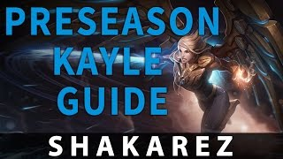 Preseason 6 Kayle Guide - AP and AD builds!