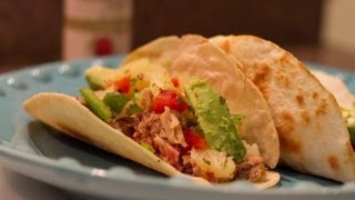 Pulled Pork Tacos W/ Homemade Pineapple Salsa Recipe