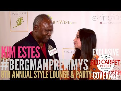 Kim Estes, Emmy Winner, at Doris Bergman's 8th Style Lounge & Party in Celebrating Emmys
