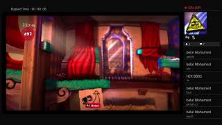 chilling and playing little big planet 3