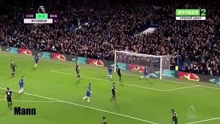 Chelsea vs Brighton Morata and Alonso goal