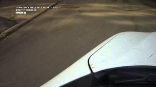 Стук подвески. Гранта лифтбек. Видео с улицы.