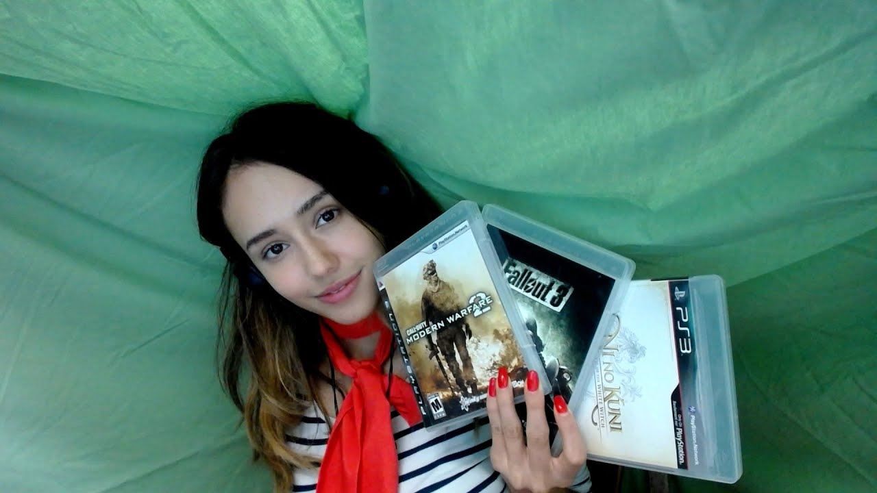 ASMR PS3 games I own  tapping noises  YouTube