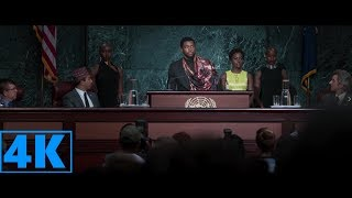 Black Panther- T'Challa Reveals Wakanda To The Rest Of The World