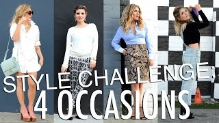 Style Challenge: Styling 4 Occasions