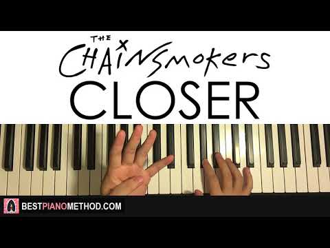HOW TO PLAY - The Chainsmokers - Closer ft. Halsey (Piano Tutorial Lesson)