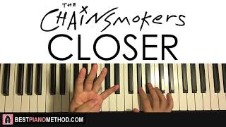 Baixar HOW TO PLAY - The Chainsmokers - Closer ft. Halsey (Piano Tutorial Lesson)