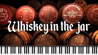Synthesia [Piano Tutorial] Whiskey in the jar (On est des infidèles SLG )