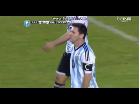 Argentina vs Slovenia the 3 monsters