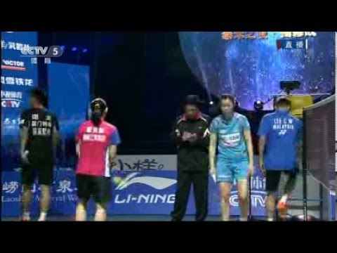 [FULL] Lee Chong Wei vs Chen Long đánh đôi nam nữ
