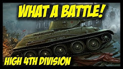 ► World of Tanks: Generals - 4th Division - What a Battle!
