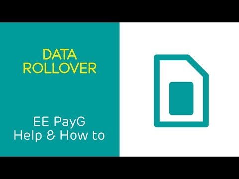 EE PAYG Help & How To: Data Rollover