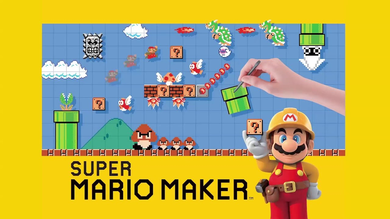 Nintendo Switch Mario Maker Sonando Con Juegos 1 Youtube