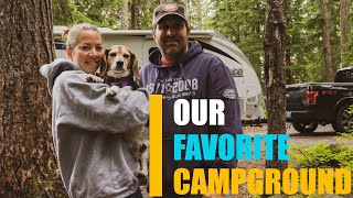 RV OREGON - LΟST LAKE RESORT & CAMPGROUND - OUR FAVORITE CAMPGROUND!: RV TRAVEL