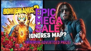 Epic Game Store Mega Sale debacle over MAP (Minimum Advertised Price)?