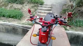 Modif Keren Sepeda Listrik Taiwan Youtube
