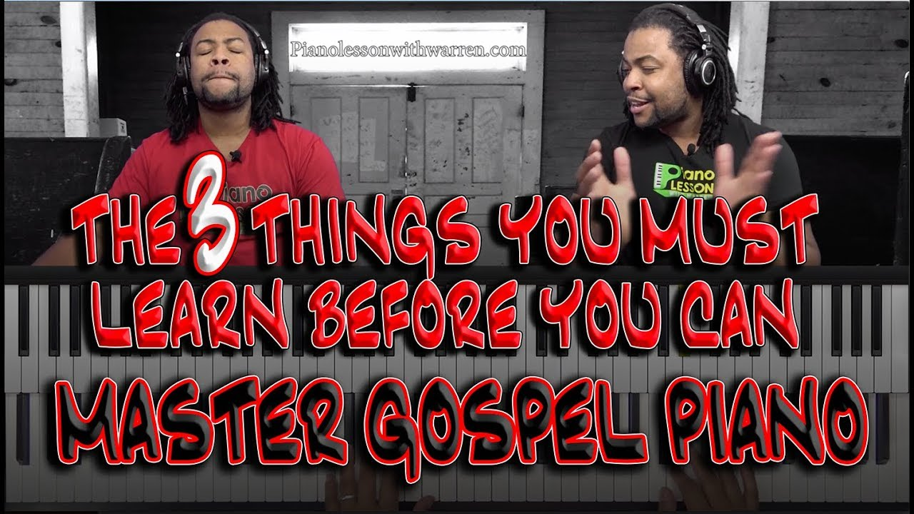 #86: Three Most Important Things To Gospel/Blues Piano