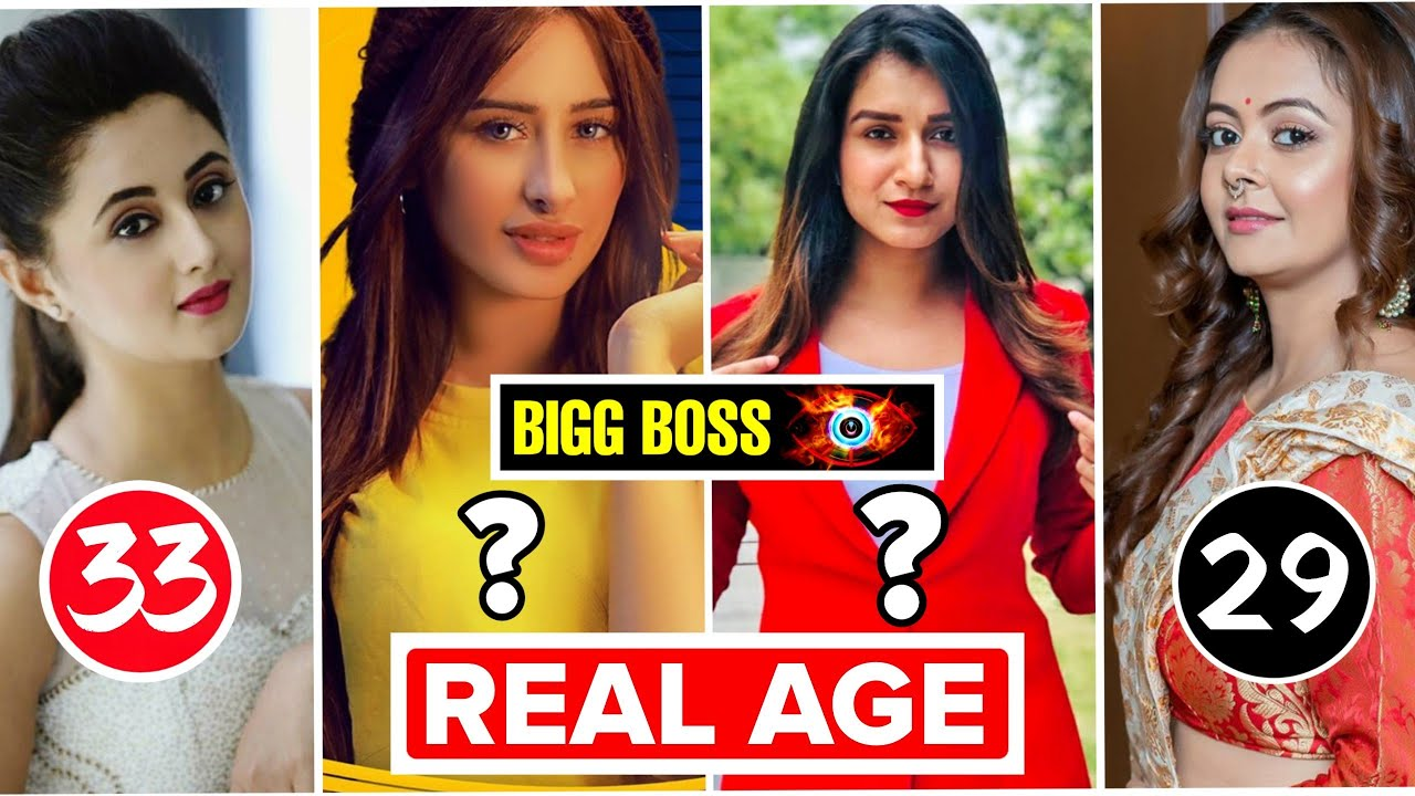 Bigg Boss 13 Contestants Age Real Age Of Bigg Boss Season 13 Contestants