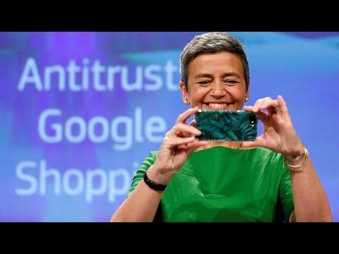 EU fines Google a record €2.42bn