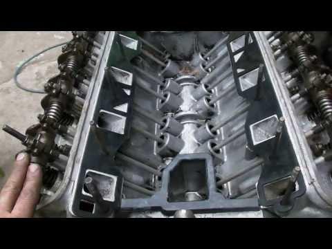 Сборка двигателя ГАЗ 53