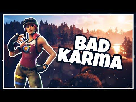 "Fortnite Montage ""Bad Karma"" (Yung Garzi)"