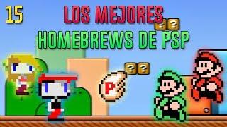 Los mejores homebrews de PSP | Parte 15 FINAL | HD | luigi2498