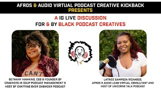 Afros & Audio IG Live - March 31, 2021