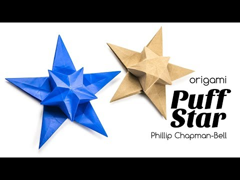 Origami Star Box for Christmas :: Caja Estrella - YouTube | 360x480