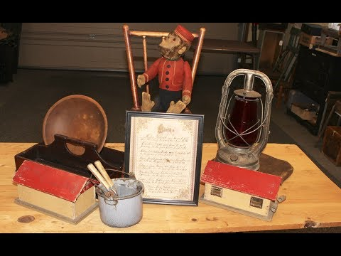 Antique Haul #37 by Antique Dealer Deanna Moyers of Vintage Touch