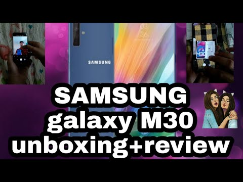 Samsung galaxy m30 unboxing and review Malayalam. best smartphone under 18k