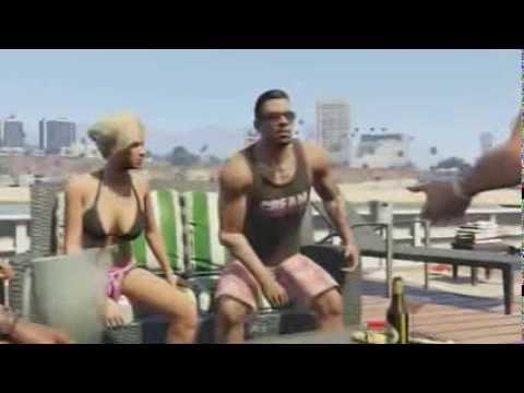GTA 5 видео на русском обзор прохождение игры