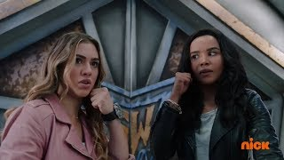 "Power Rangers Super Ninja Steel - Girls Battle in Galaxy Warriors | Episode 20 ""Reaching the Nexus"""
