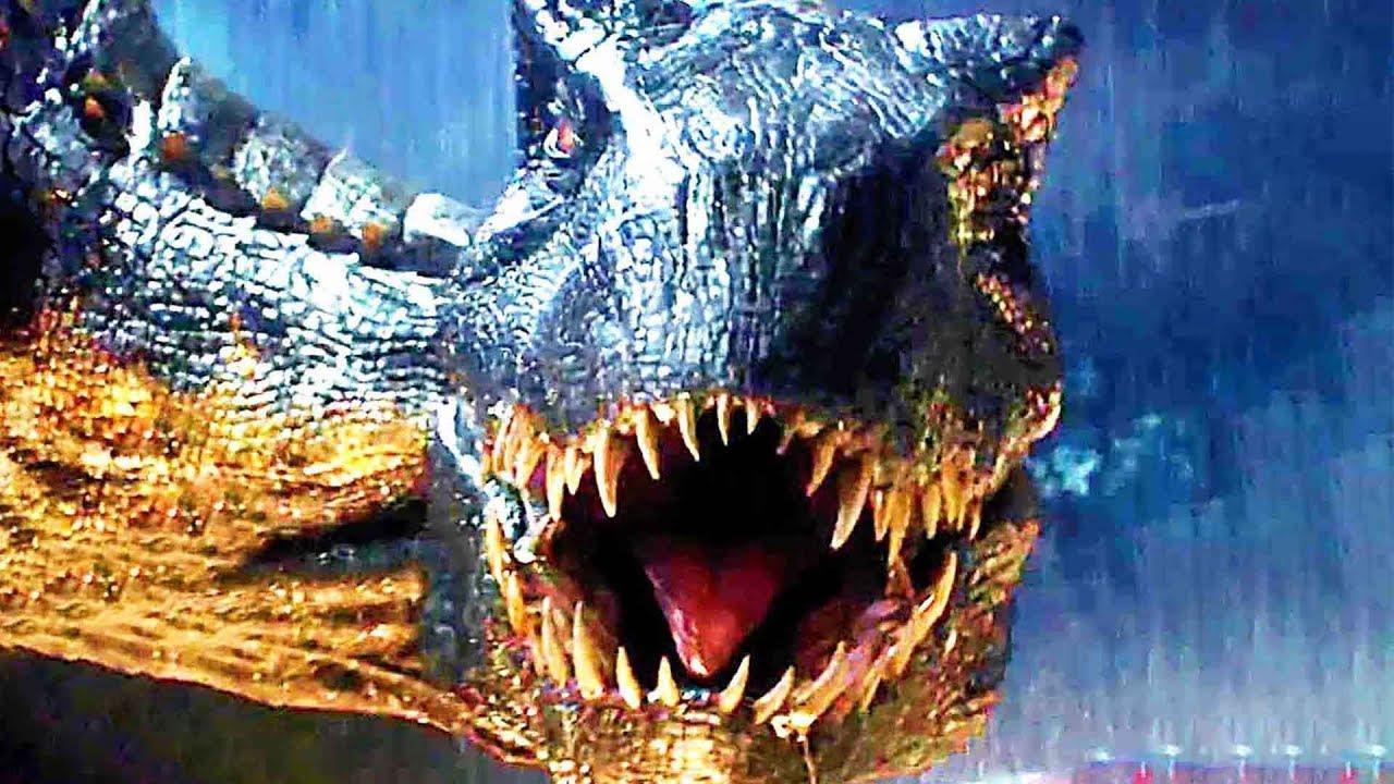 Jurassic world 2 nouvelle bande annonce teaser 2018 youtube - Film de dinosaure jurassic park ...