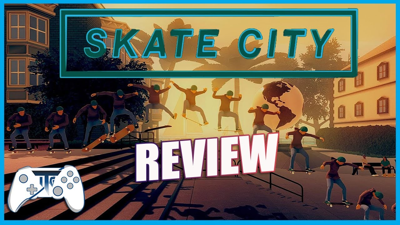 Skate City! Review Nintendo Switch (Video Game Video Review)