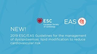 New ESC/EAS Dyslipidaemia Guidelines out now - what is new?