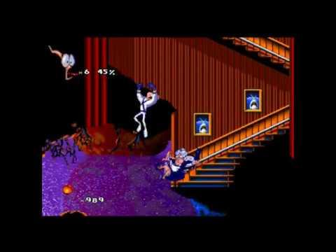 Earthworm Jim 2 (PS1) Gameplay