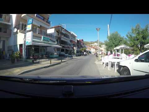 GoPro H4K-drive Through Neos Marmaras - Sithonia - Halkidiki - Greece 2015