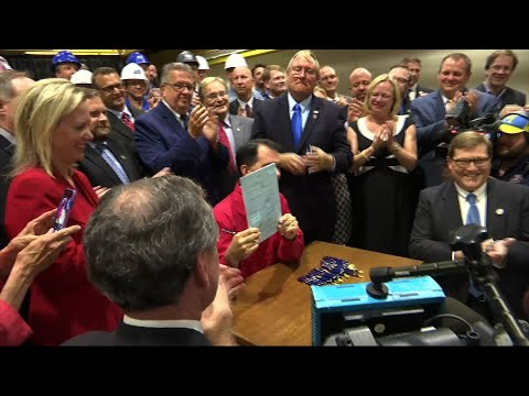Wisconsin Governor Signs Foxconn Bill Into Law